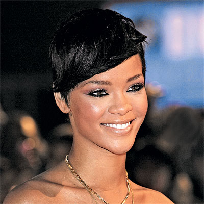 rihanna hair colour. and hair color trends