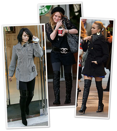 over the knee boots. Over the Knee Boots!