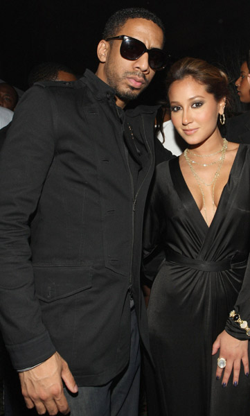 Ryan Leslie and Adrienne Bailon