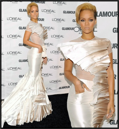 rihanna Glam honors