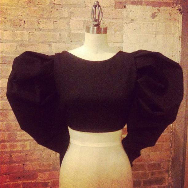 couture crop top