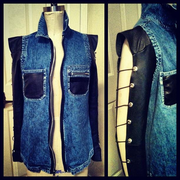 labritt leather slv jacket